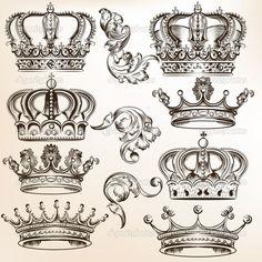 Bildergebnis für krone tattoo