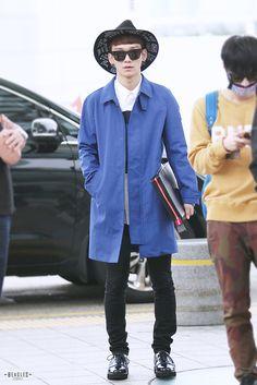 140926 EXO Chen | Incheon Airport to Bangkok