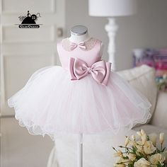 Only $64.99, Flower Girl Dresses Cute Big Bow Pink Tutus Flower Girl Dress Dance Performance Pageant Gown #TG7129 at #GemGrace. View more special Flower Girl Dresses now? GemGrace is a solution for those who want to buy delicate gowns with affordable prices, a solution for those who have unique ideas about their gowns. 2018 new arrivals, shop now to get $5 off!