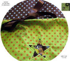STICK♥Loop♥ DIY Stern-Eule Dots- 1 x vorhanden! von ஐღKreawusel-aufgehübscht✂ஐ  auf DaWanda.com