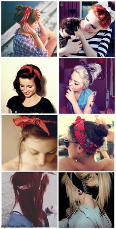 Bandana styles for summer