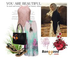 """""""Banggood 8"""" by aida-1999 ❤ liked on Polyvore featuring Topshop"""