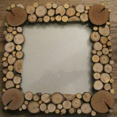 Tree Slice Picture Frame by Just Like Gramma