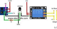 ESP8266 Auto Restart Router_Elec-Cafe