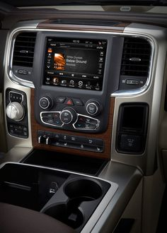 look at the gear change knob in the dodge ram!