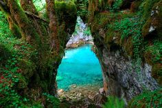 Gate Of Wishes. Mrtvica Canyon, Montenegro