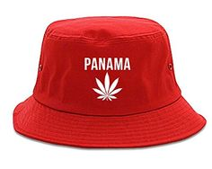 Country of Panama Weed Leaf Pot Marijuana Bucket Hat Red - http://weedonsteroids.com/?product=country-of-panama-weed-leaf-pot-marijuana-bucket-hat-red