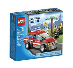 LEGO City Fire Sets Fire Chief Car LEGO 60001 Minifigures Building Toy Brand New #LEGO