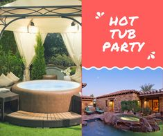 landscaping around hot tubs 3