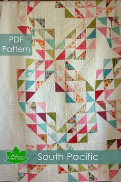 PDF Quilt Pattern - RobinsonPatternCo  Pattern idea for that red and white quilt that I've always wanted to make.