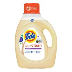 Tide Purclean is 65% bio-based, creates zero manufacturing waste, AND is powered by 100% wind power.