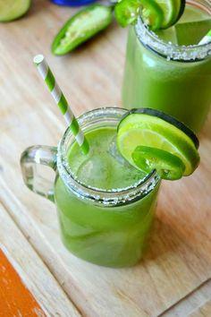Tattooed Martha - Spicy Cucumber Ginger Margaritas (5)