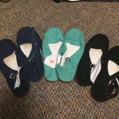 Lot of 3 urban outfitters Mary Jane flats size 8/9 Each worn a few times, in great condition! Marked 8/38 but I'm a true 9 and they fit me! Cotton with rubber bottoms. Urban Outfitters Shoes Flats & Loafers