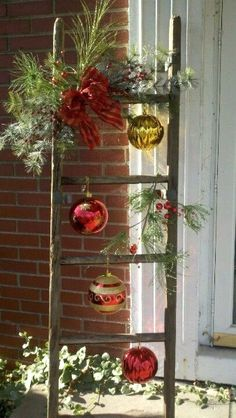 Attractive DIY Outdoor Christmas Decorations – I love Pink