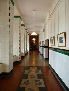 Scotland Street School Museum. Glasgow, Scotland. Charles Rennie Mackintosh.1903- 1906.