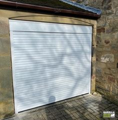Roller Doors from Garolla come in a variety of different shades. But perhaps our most popular choice are white Roller Shutter Doors. Click the link to find out more about our Roller Door service! White Garage Doors, Garage Door Paint, Electric Garage Doors, Garage Door Decor, Garage Door Makeover, Garage Door Design, Roller Doors, Roller Shutters, Electric Rollers