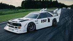 Audi Quattro time attack rally car