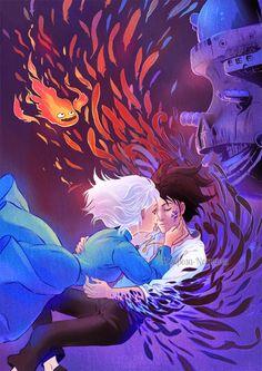 """Generación GHIBLI: 10 """"Fan Art"""" de 'El castillo ambulante' que te enamorarán"""