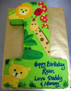 safari first birthday cake | Recent Photos The Commons Getty Collection Galleries World Map App ...
