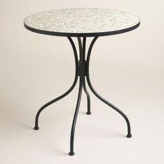 Round Gray Cadiz Bistro Table | World Market