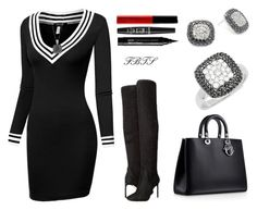 Fall Melodies by flybeyondtheskies on Polyvore featuring Effy Jewelry and NYX