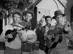 The Darling Boys played by bluegrass band, The Dillards