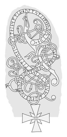 Jonas Lau Markussen is creating illustrated content about the Viking age Viking Symbols, Viking Runes, Viking Age, Norse Tattoo, Viking Tattoos, Shoulder Armor Tattoo, Viking Pattern, Viking Dragon, Viking Designs