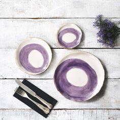 Şık sofralara özel tasarım tabaklar puuku.com'da #dekorasyon #design #tabak #tasarımtabak