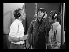 The Beach Boys - Good Vibrations - Rare Studio Recording Film Footage