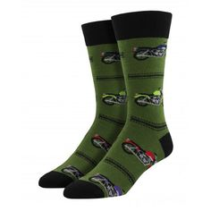 Purple Leopard Boutique - Socksmith Men's Crew Socks Motorcycles Chive Green, $14.00 (http://www.purpleleopardboutique.com/socksmith-mens-crew-socks-motorcycles-chive-green/)