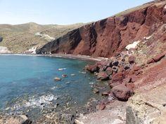 Red beach  #Santorini