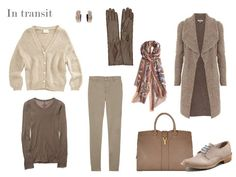 The Vivienne Files: Six-pack: taupe & denim blue --> Love everything but the taupe blouse -- substitute ivory?