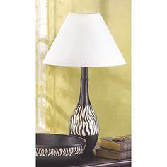 ZEBRA STRIPE LAMP