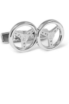 Feed his need for speed with Alfred Dunhill steering wheel cufflinks #fathersday #fordad