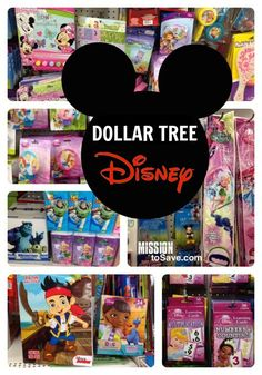 Dollar Tree Disney items perfect for a party, stocking stuffers at Christmas or inexpensive souvenir alternatives!