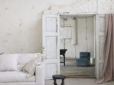 Casuarina in Helsinki: A Poetic Concept Shop - Remodelista Wicker Furniture, Upholstered Furniture, Helsinki, Simple Interior, Interior Design, Cosy Interior, Concept Shop, Morris, Modern Patio