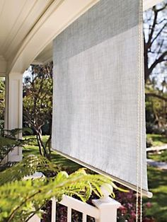 Designer Window Shade | Solutions-I don't like the color but I sure could use a couple of these.
