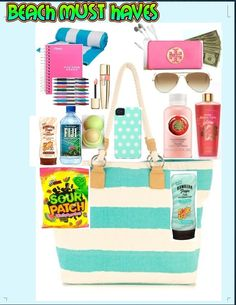 What's in my beach bag??