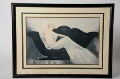 shopgoodwill.com: Vintage Louis Icart Belle Epoque Art Deco Print Art Deco Print, Art Auction, Belle Epoque, Framed Prints, Painting, Vintage, Painting Art, Vintage Comics, Paintings