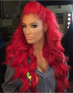 New Hair Color Red Bright Eyebrows Ideas Bright Red Hair, Bright Hair Colors, Red Hair Color, Color Red, Natalie Eva Marie, Glam Hair, Beautiful Redhead, Big Hair, Trendy Hairstyles