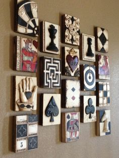 Games Wall by Joanne DiLullo