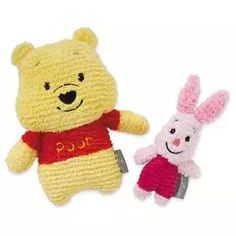 Pooh and Piglet Stuffed Animal Set,