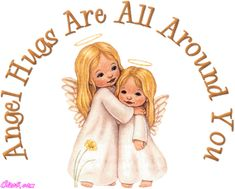 How long has it been since you had a hug? Sending hugs out to anyone that needs one! Angel Images, Angel Pictures, Hug Images, Hug Day Quotes, Hug Photos, Todays Devotion, Happy Hug Day, Angel Quotes, I Believe In Angels