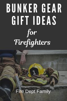 Bunker gear ideas for firefighters and their families! Plenty of tan and black bunker gear options with personalized and gifts for every budget! gift ideas for him Firefighter Boyfriend, Firefighter Family, Firefighter Quotes, Firefighter Gifts, Firefighter Training, Fire Dept, Gears, Personalized Gifts, Firefighters