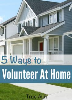 5 Ways Moms Can Volunteer from Home - These Rock! #ad
