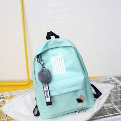 Bts Backpack, Rolling Backpack, Canvas Backpack, Mini Backpack, Mochila Kpop, Mochila Do Bts, Cute Backpacks, School Backpacks, Fashion Bags