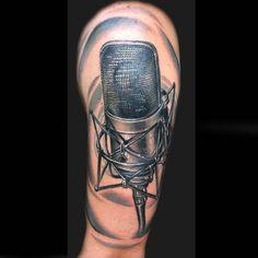 Wwwratemyinkcomimagesul S Microphone Tattoo Jpeg Tattoo Dope Tattoos, Music Tattoos, Microphone Tattoo, Tattoo Designs, Ink, Artist, Free, Saints, Tattoos