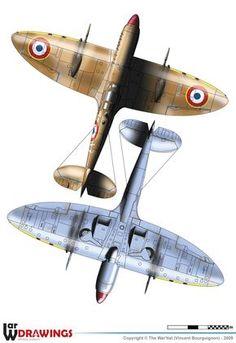 Supermarine Spitfire Mk.IXc Ww2 Aircraft, Fighter Aircraft, Military Aircraft, Fighter Jets, Spitfire Supermarine, Airplane Art, Ww2 Planes, Royal Air Force, Aviation Art