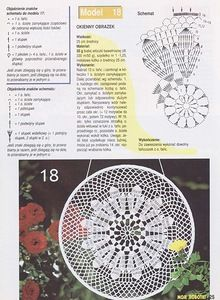 "Photo from album ""Moje robotki on Yandex. Mandala Au Crochet, Crochet Circles, Crochet Doily Patterns, Crochet Diagram, Crochet Chart, Thread Crochet, Filet Crochet, Crochet Motif, Crochet Wall Art"