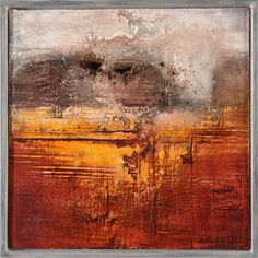 Picture gallery with a selection of works Gabriele Musebrink Abstract Landscape Painting, Landscape Art, Landscape Paintings, Abstract Art, Wax Art, Encaustic Art, Acrylic Art, Acrylic Paintings, Texture Art